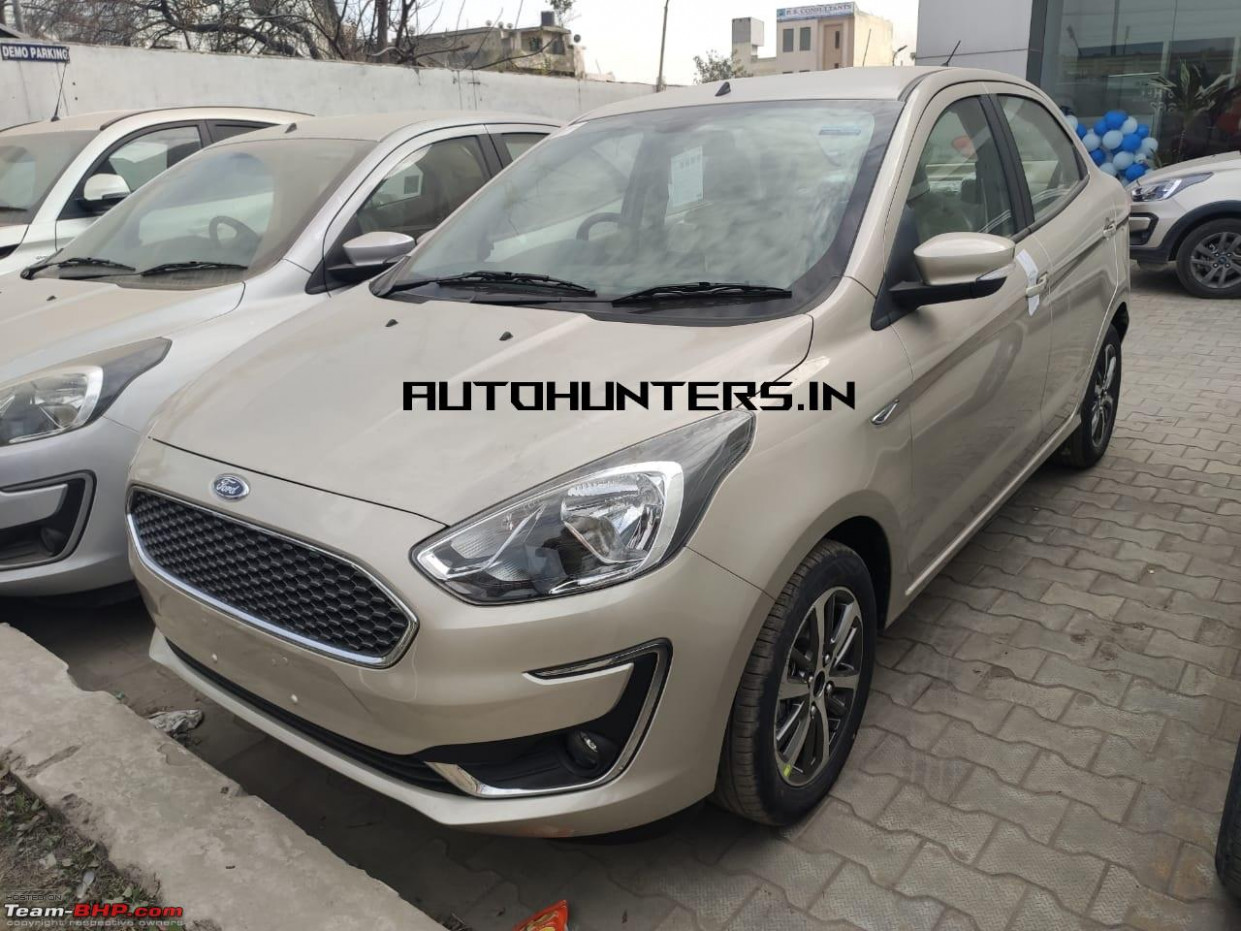 BS7 Ford Figo, Aspire & Freestyle launched - Team-BHP - 2020 ford aspire