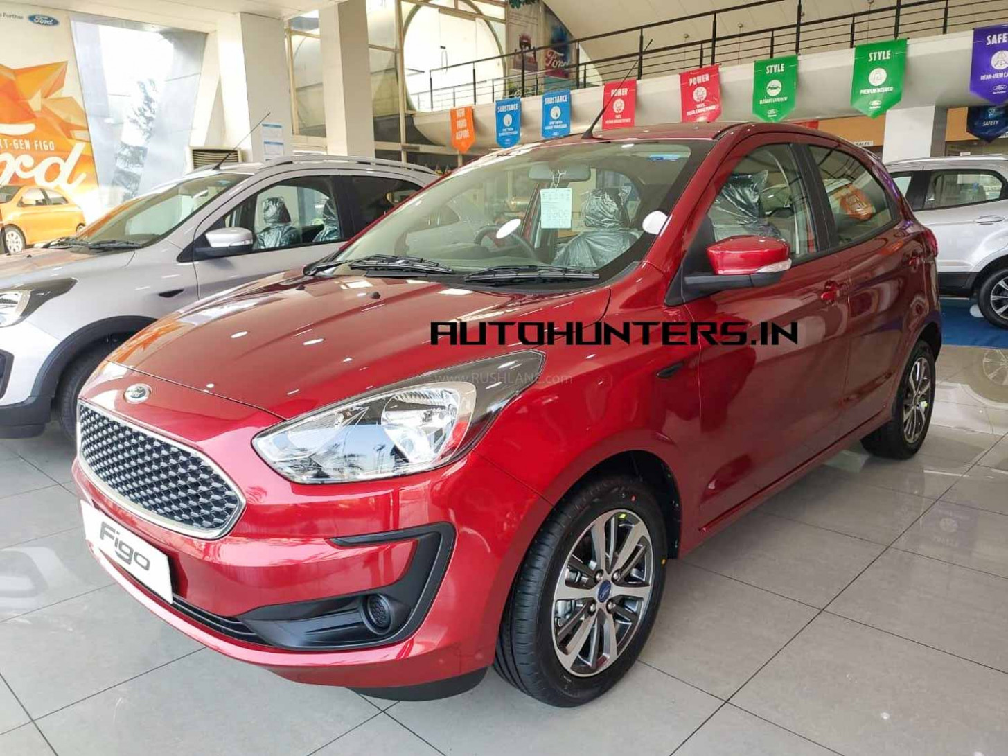 BS7 Ford Figo, Aspire arrives at dealer - gets new alloys, SYNC7 ...