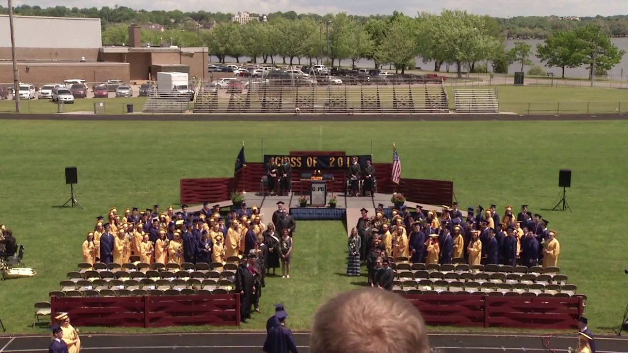 Cadillac High School Class of 7 Graduation - cadillac high school graduation 2020