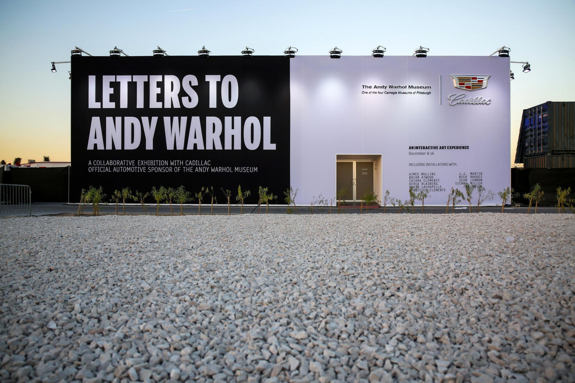 Cadillac parks 'Letters to Andy Warhol' exhibit in Dubai's D8 ...