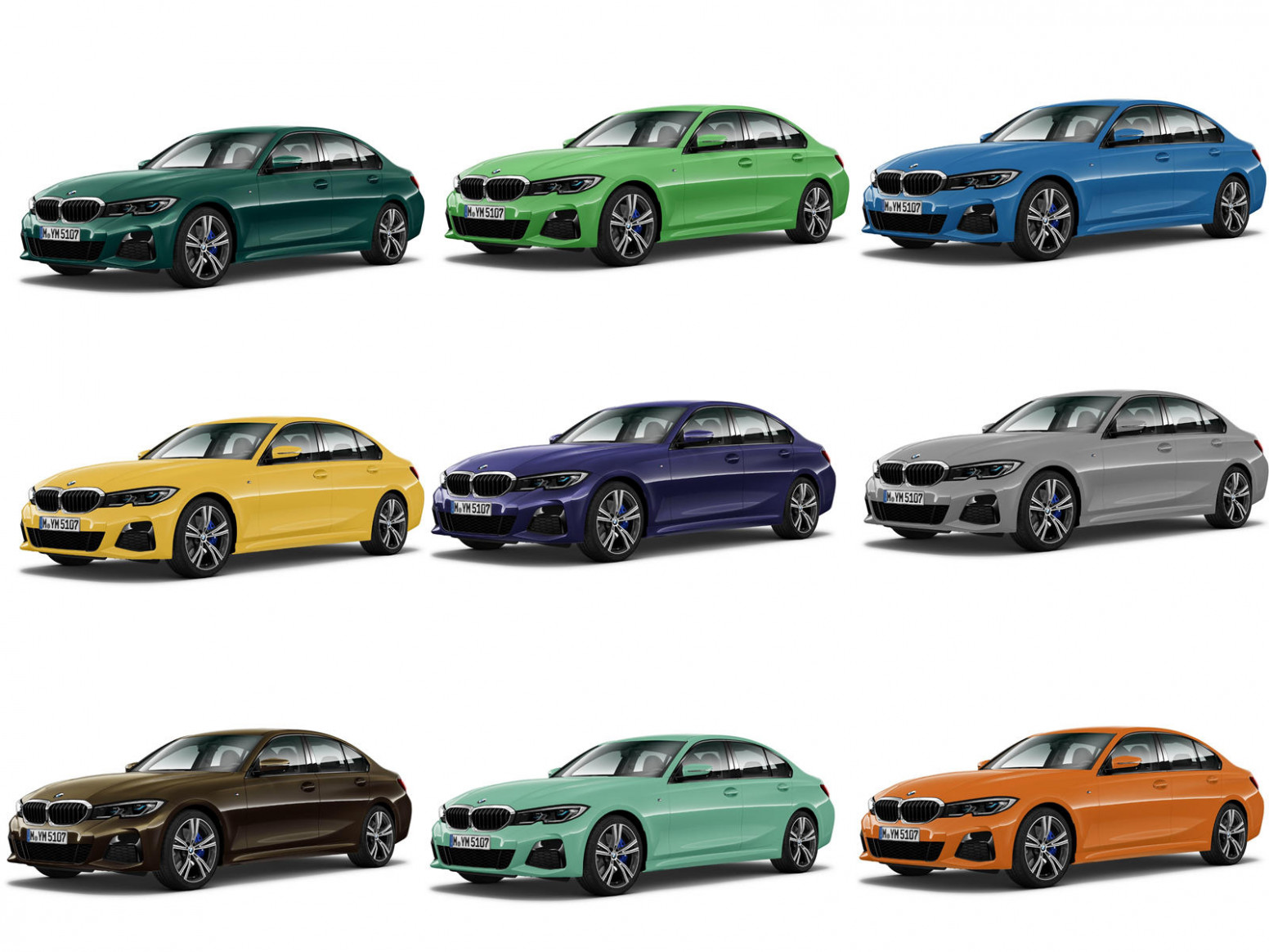 Check Out The Awesome Individual Paint Colors For The BMW 7 Series ..