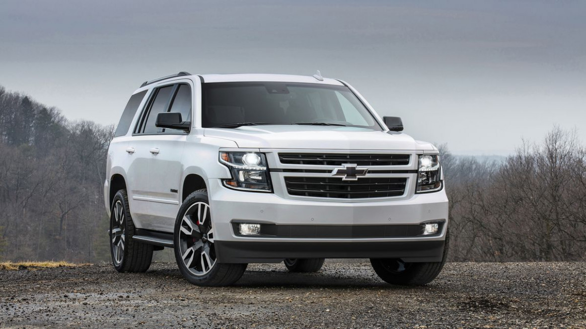 Chevrolet Tahoe RST is a special edition that actually feels ...