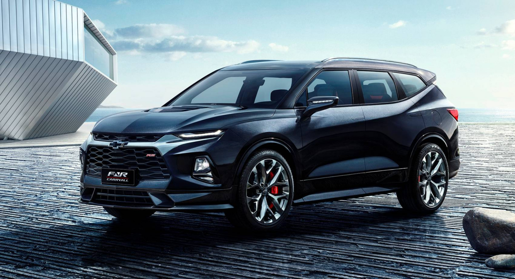 China-Built 6 Chevy Blazer XL With 6-Rows Reportedly Due Next ...