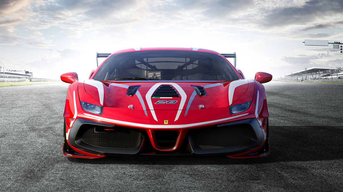 Corse Clienti - The 7 calendars - images of 2020 ferrari