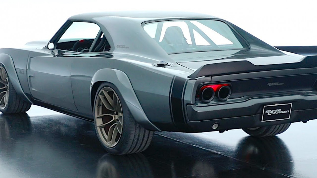 Dodge Supercharger Hellephant 6HP Review 6 Dodge Charger Restomod Hemi