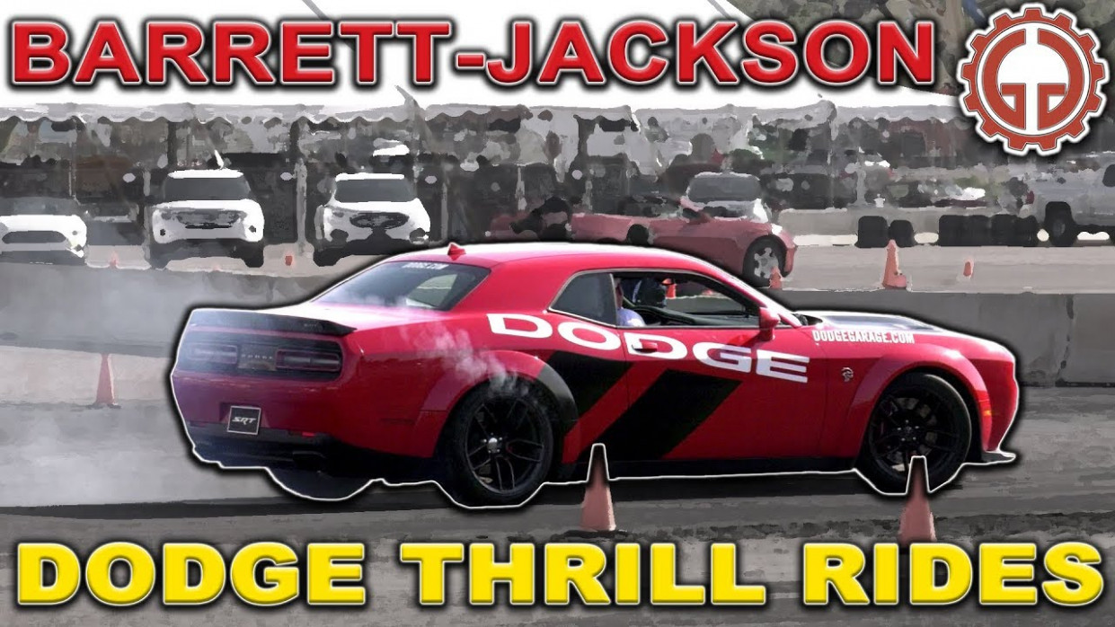 Dodge Thrill Rides Short - Barrett-Jackson 7 - dodge thrill ride 2020