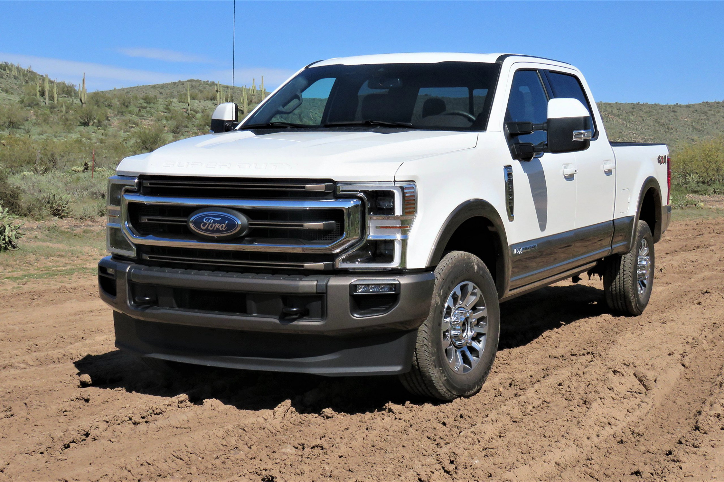 Driven: 8 Ford F8 Super Duty combines capability, driving finesse - 2020 ford king ranch f350