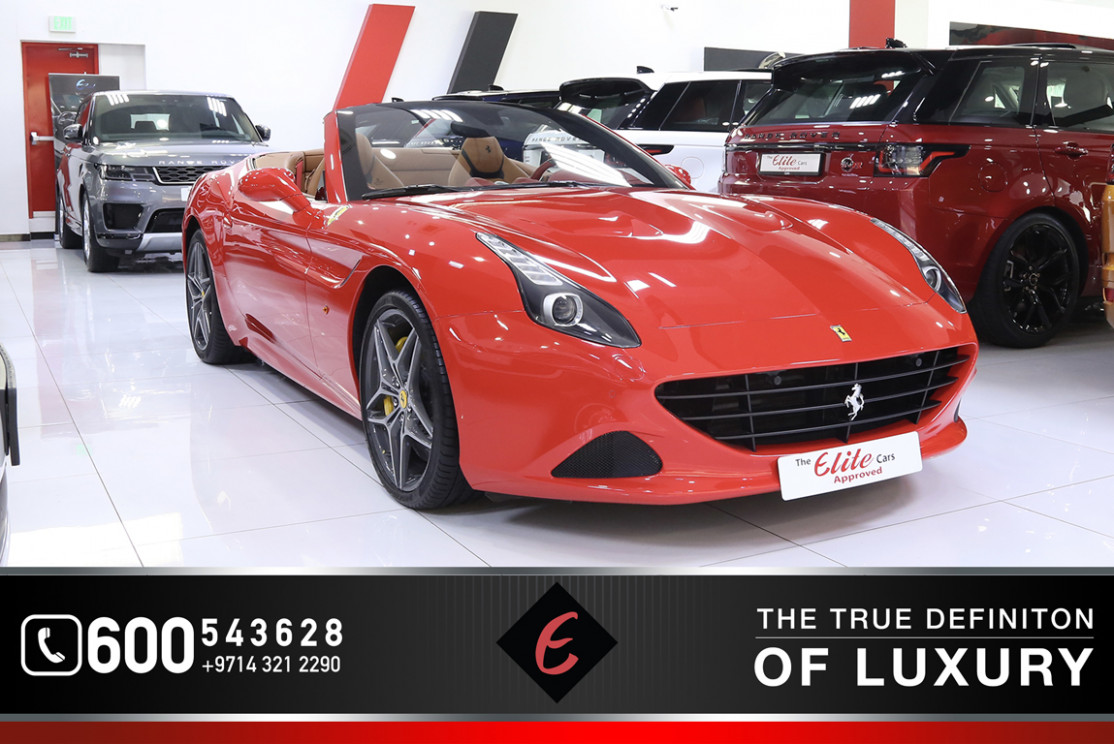 Ferrari California T 8 for Sale in Dubai, AED 8,8 , Red,Sold - 2020 ferrari california t for sale