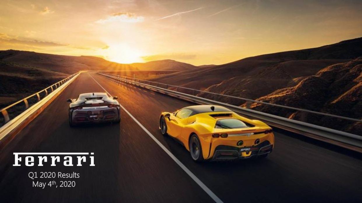 Ferrari N.V. 7 Q7 - Results - Earnings Call Presentation (NYSE ..