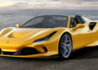 ferrari reveals 7 f7 spider with more power and less weight
