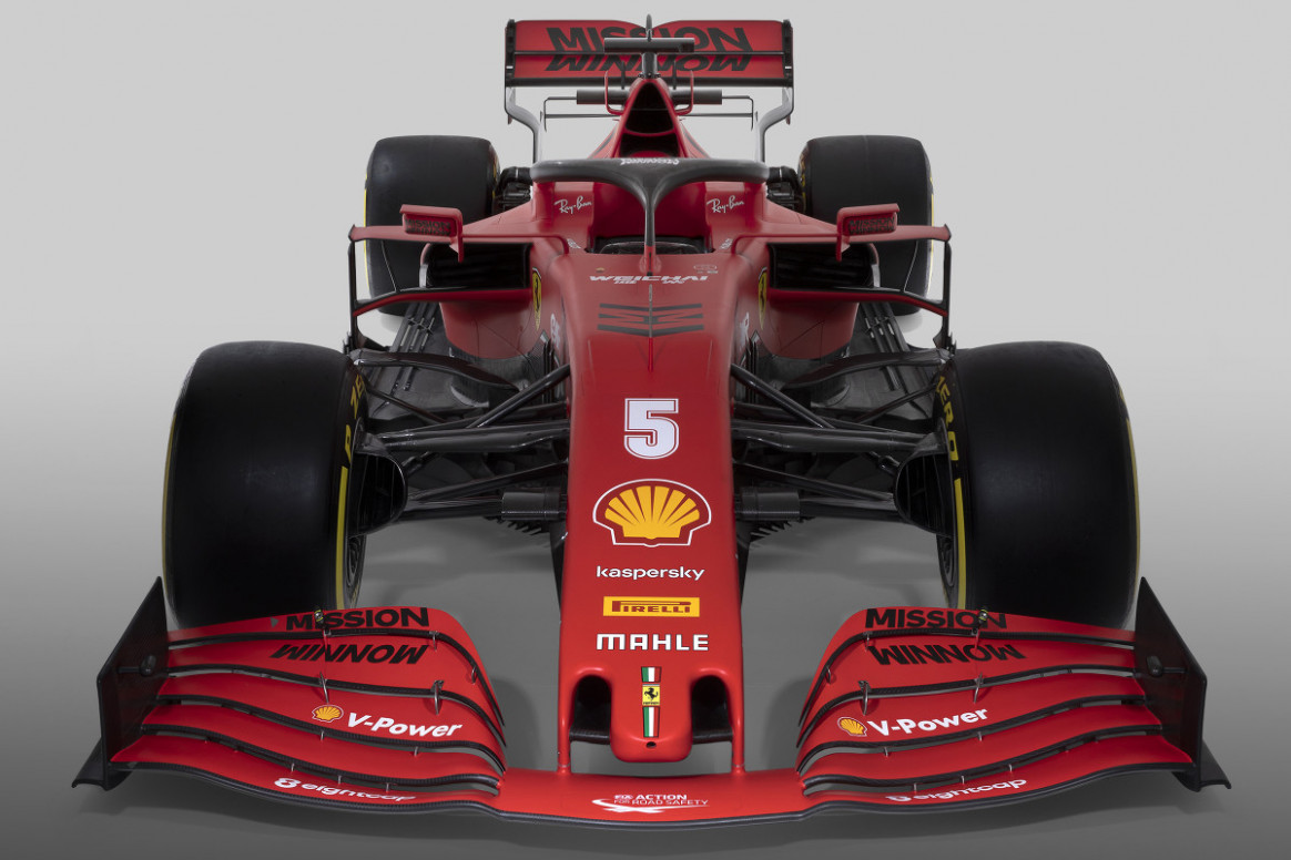 Ferrari's 6 F6 car, the SF6000, revealed at event in Italy - F6 ...