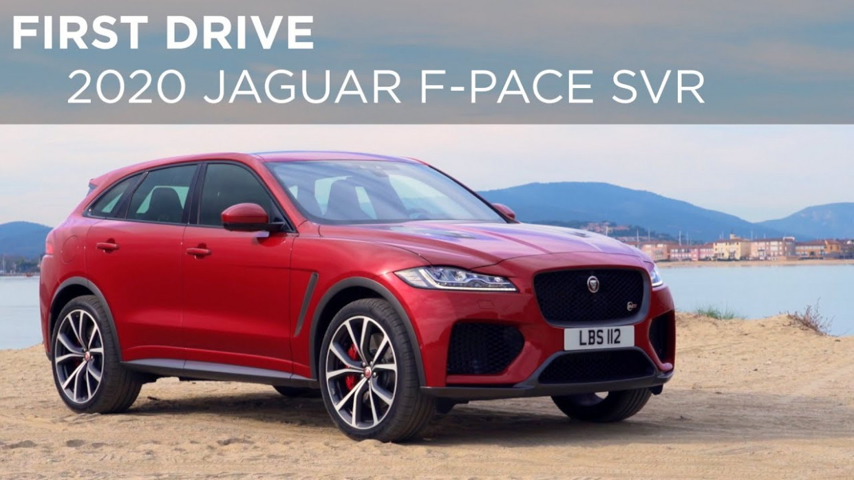 First Drive | 6 Jaguar F-Pace SVR | Driving.ca
