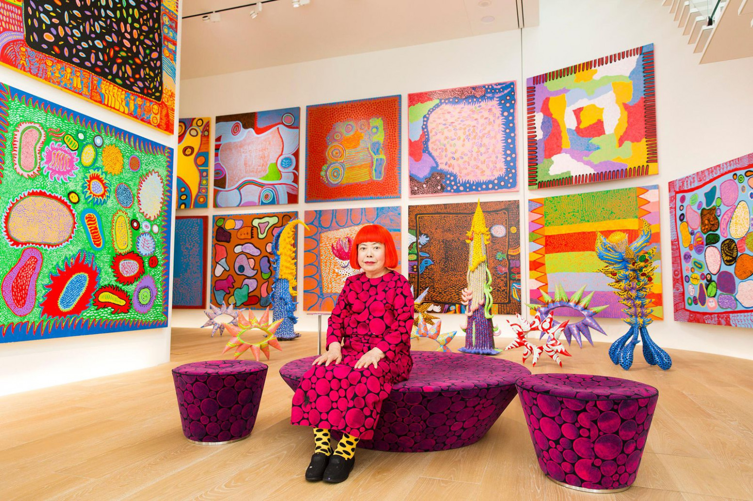 Follow the Polka Dots to Yayoi Kusama's Infinity Rooms That Are ...