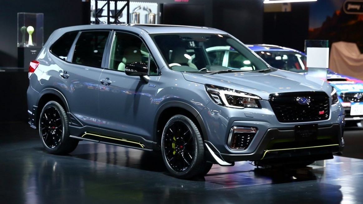 Forester STI Breaks Cover in Tokyo; It's The One You Want But Can ...