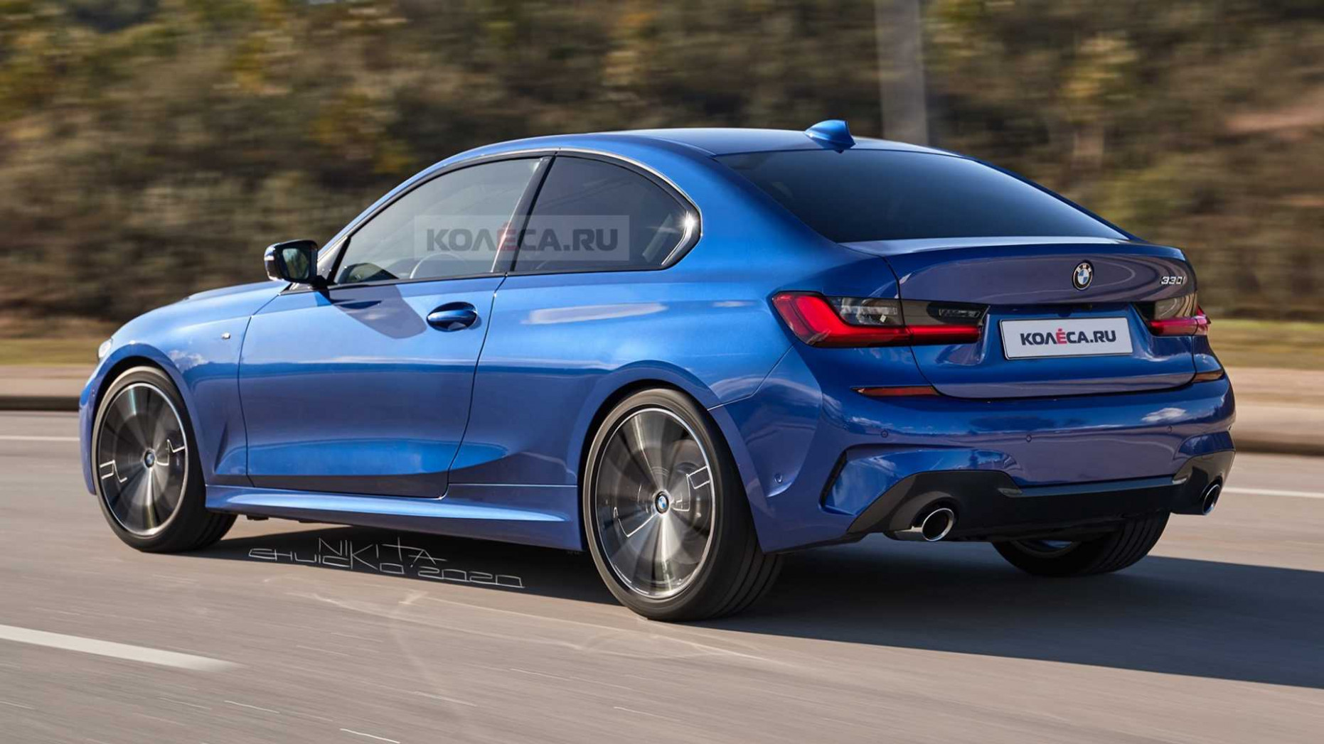 G8 BMW 8 Series Compact rendered: perfect 8 Series replacement? - bmw g20 2020