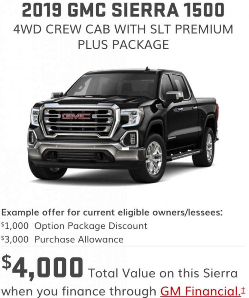 GMC Offers $8,8 Sierra Discount On All-New Pickup In March 8 ..