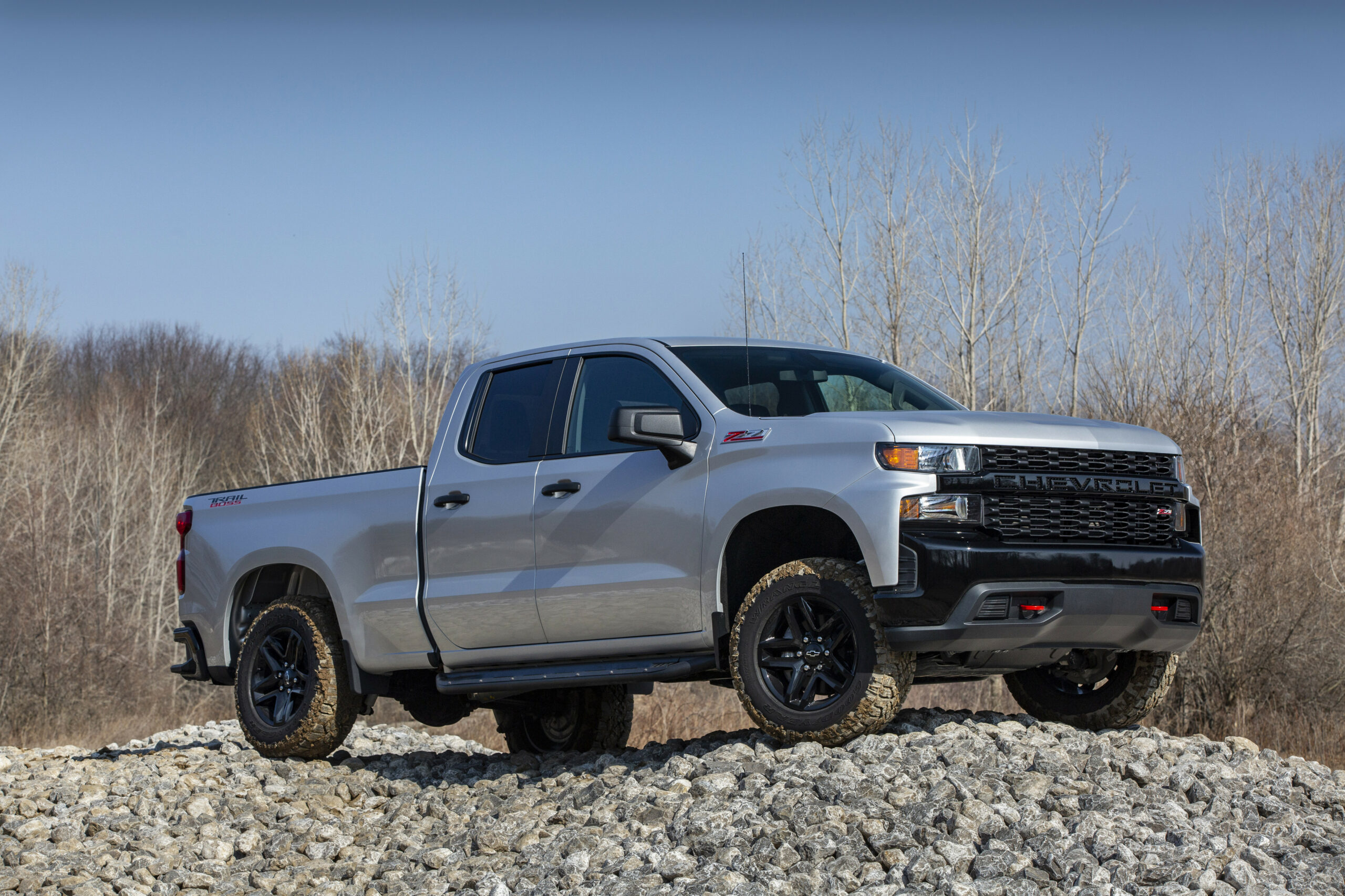 GMC Pressroom - Middle East - Images - chevrolet silverado 2020 trail boss