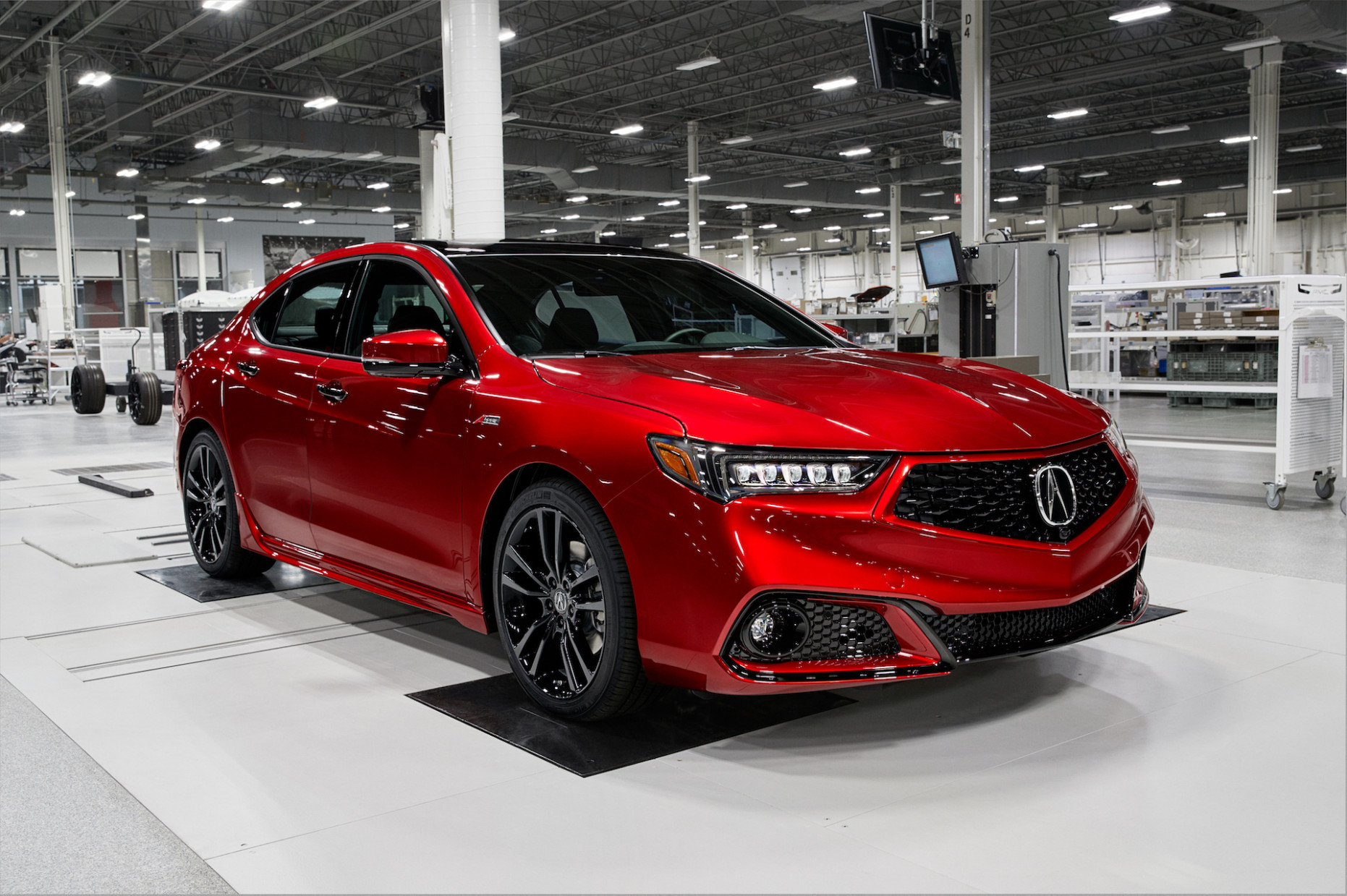 Hand-assembled 8 Acura TLX PMC Edition price reflects a value