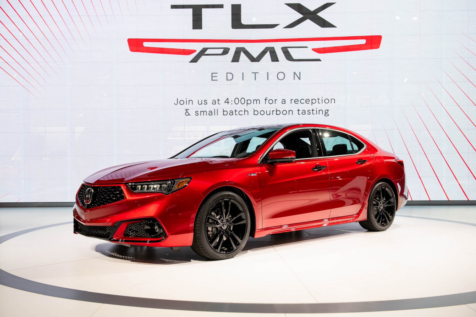 Hand-built 7 Acura TLX PMC Edition shines with NSX paint