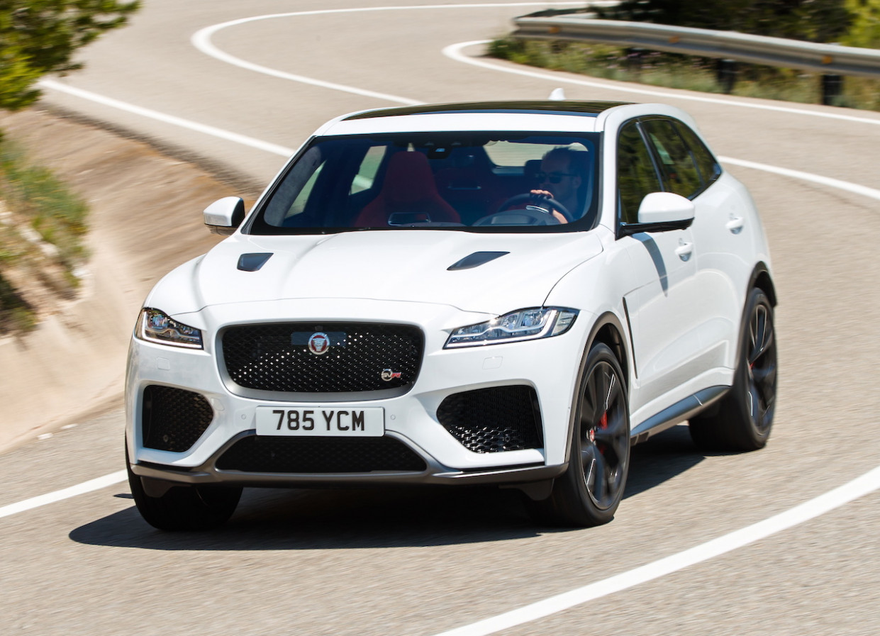 Here Is What the 6 Jaguar F-Pace SVR All About! A Supercharged ..