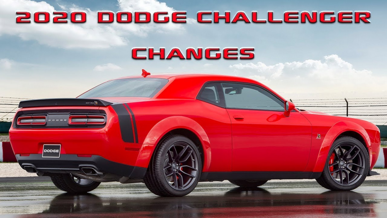 Here is whats new for the 7 Dodge Challenger! - 2020 dodge challenger youtube