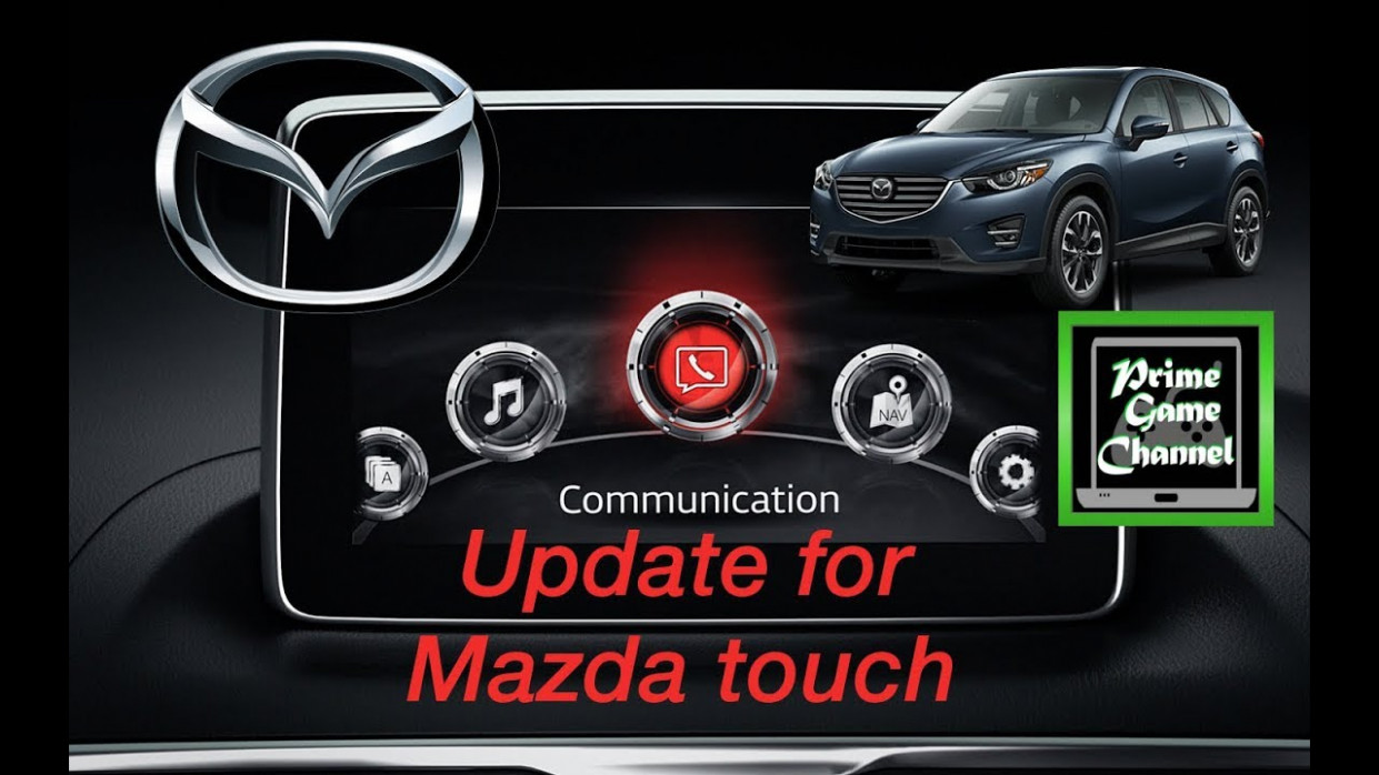 How To Update The Mazda HandFree Touch GraceNote