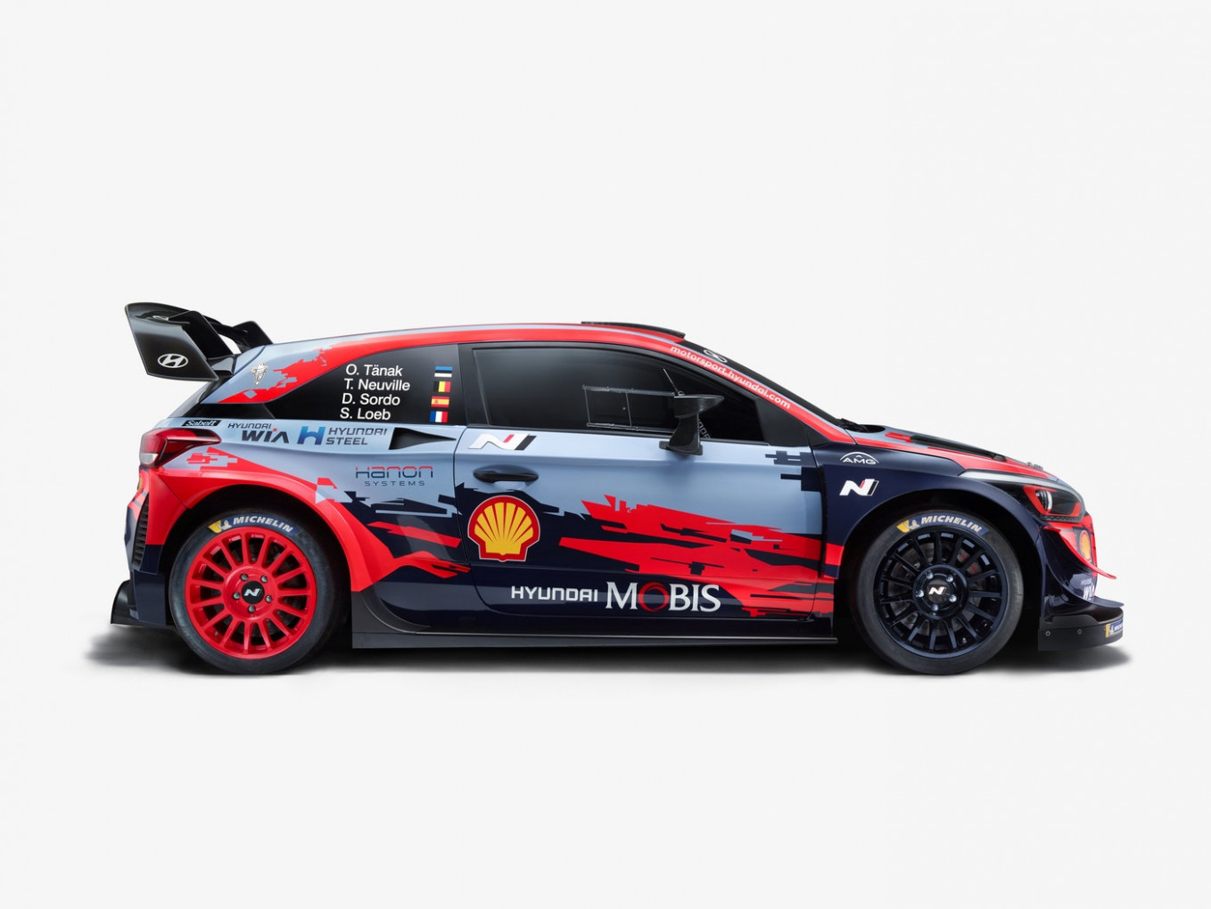 Hyundai completes 8 WRC set with its new car reveal
