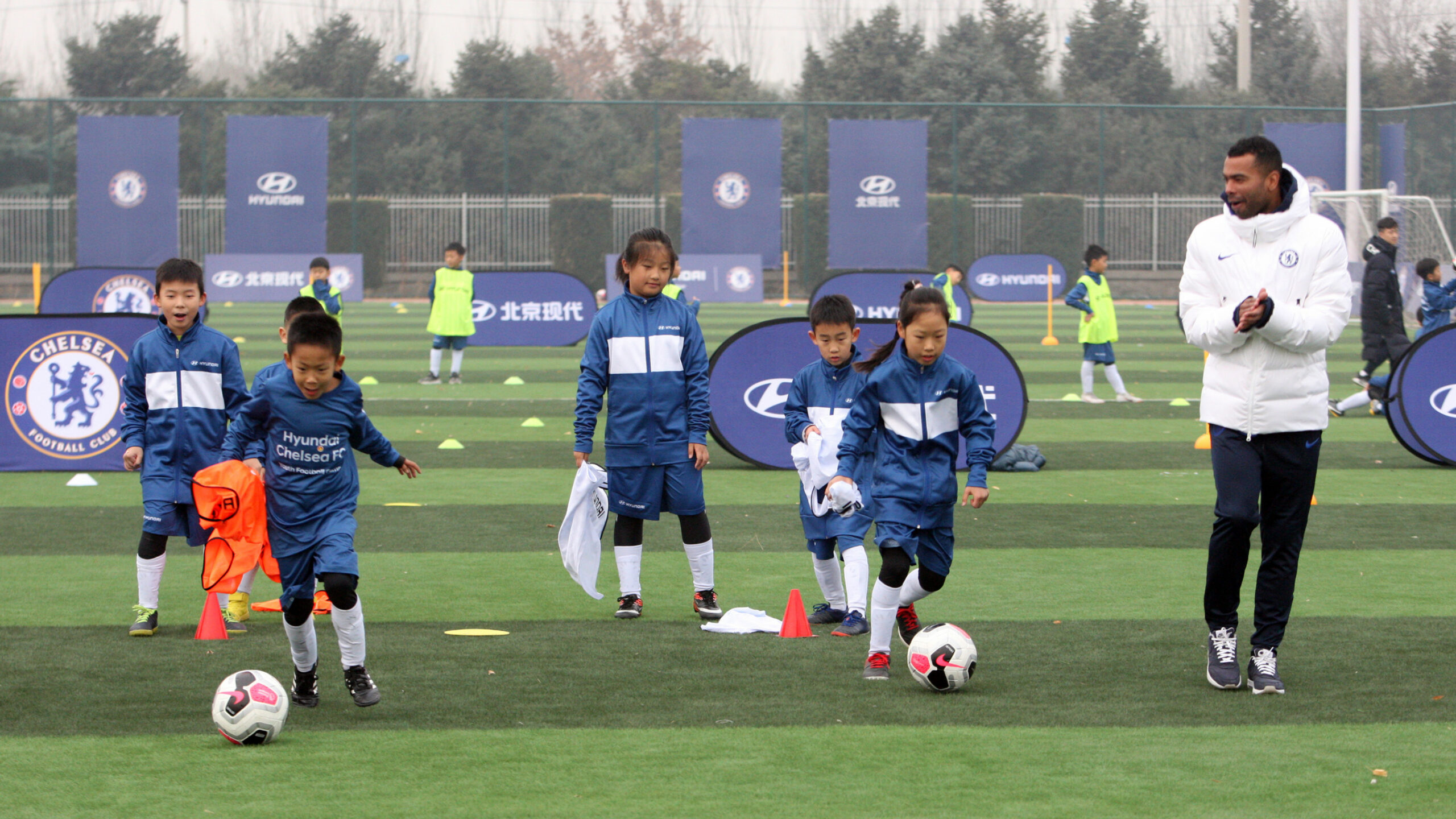 Hyundai Motor Conducts Youth Football Camp in Beijing with Chelsea ..