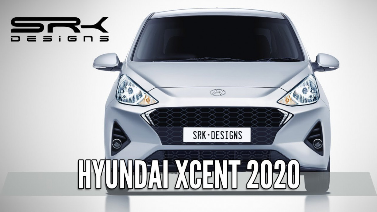 Hyundai Xcent 7 - Rendering - Making Video | SRK Designs