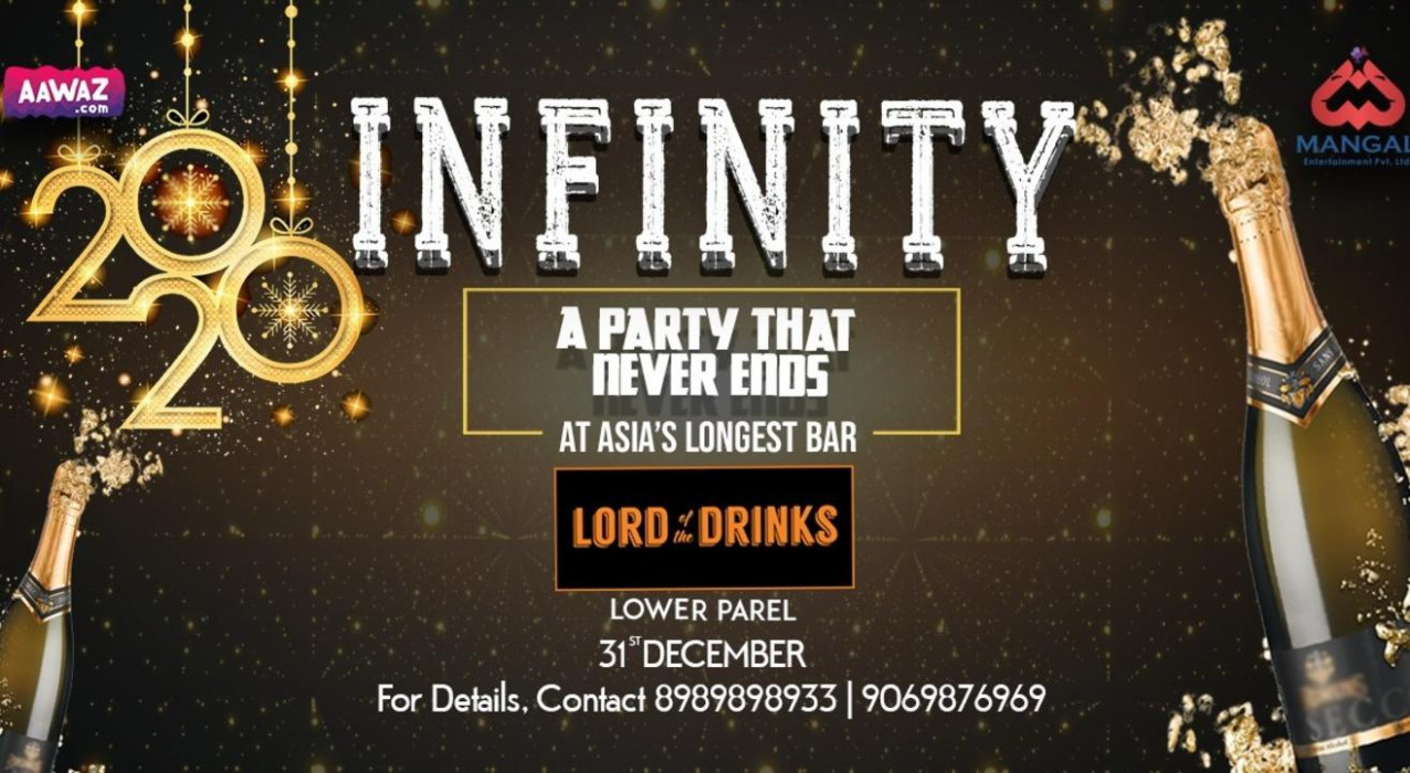 Infinity 8 @ Lord of The Drinks - infinity nye 2020