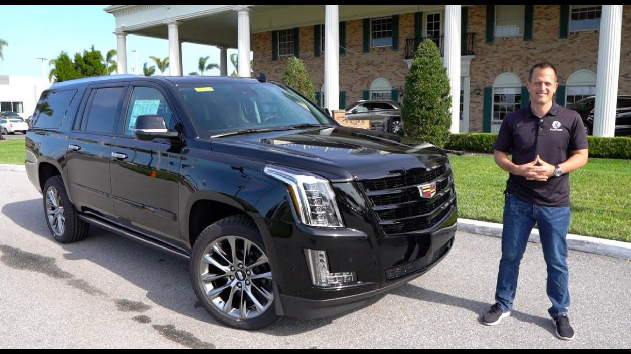 Is the 6 Cadillac Escalade ESV BIGGER & BETTER than the Navigator?