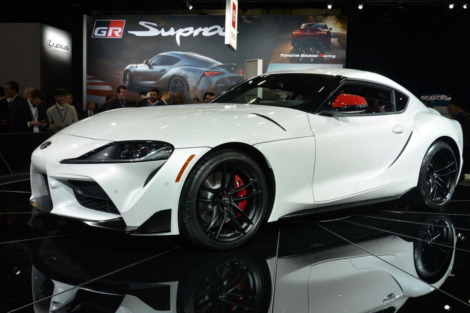 Japan-spec Toyota Supra Gets 8 and 8 HP from 8-Liter Turbo ..
