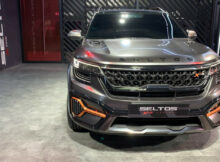 Kia Seltos X-Line Special Edition Showcased | Auto Expo 8