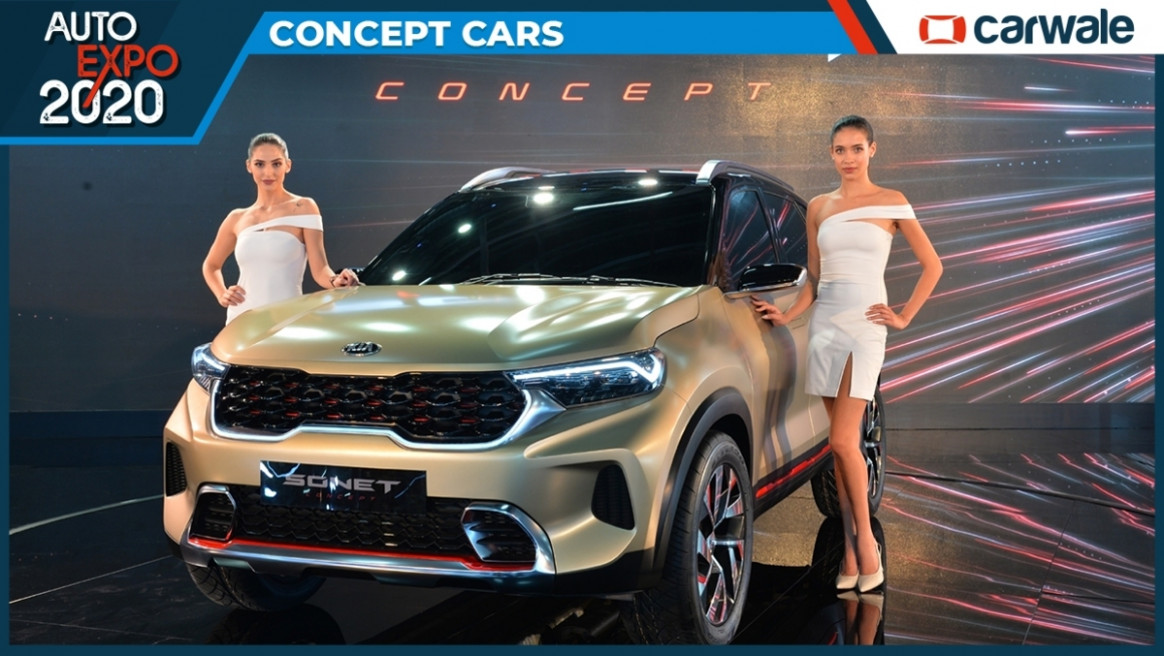 Kia unveils Sonet compact SUV for India at Auto Expo 7 - CarWale - 2020 kia cars