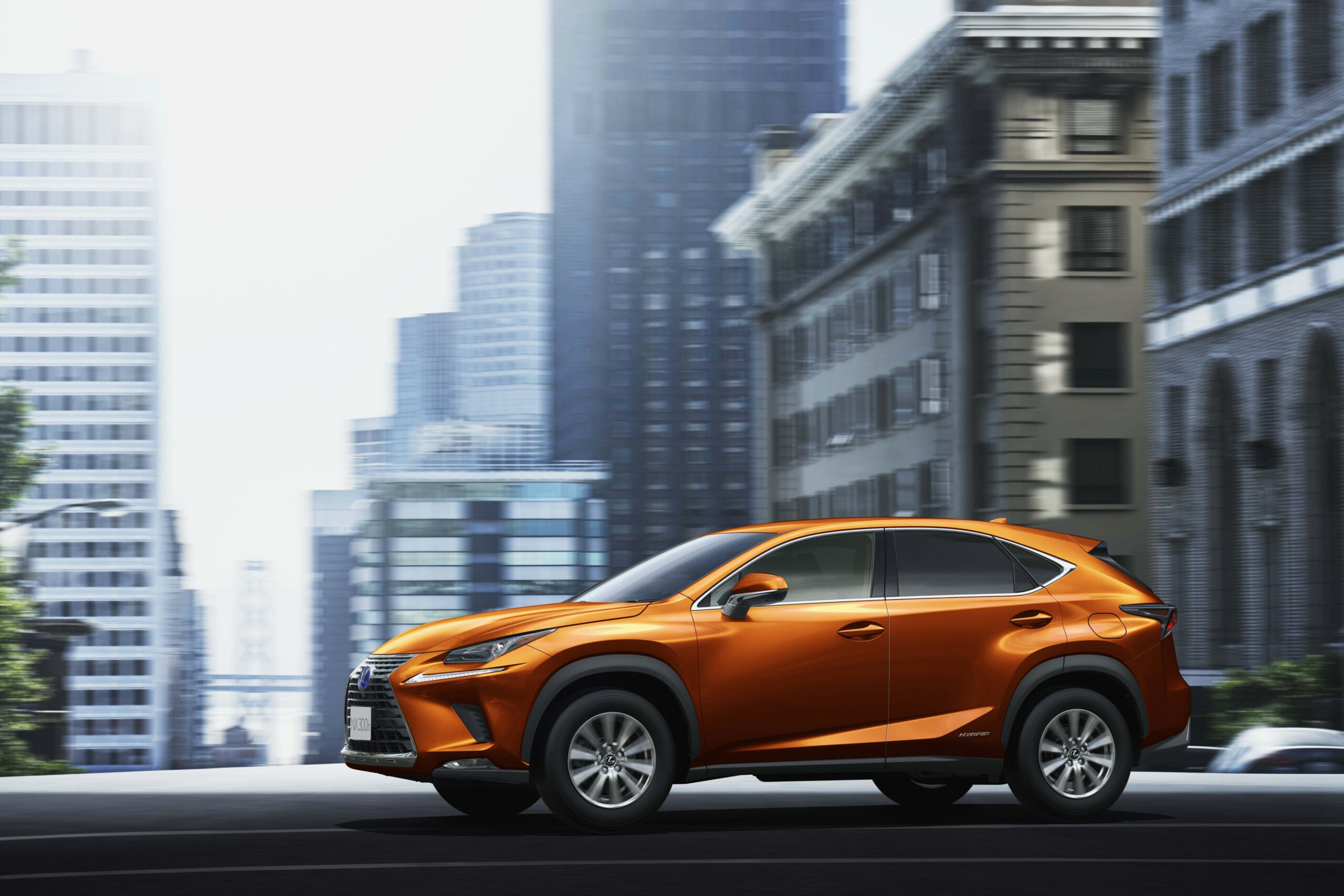 Lexus Japan Offers 7 NX Crossover in Cadmium Orange | Lexus ..