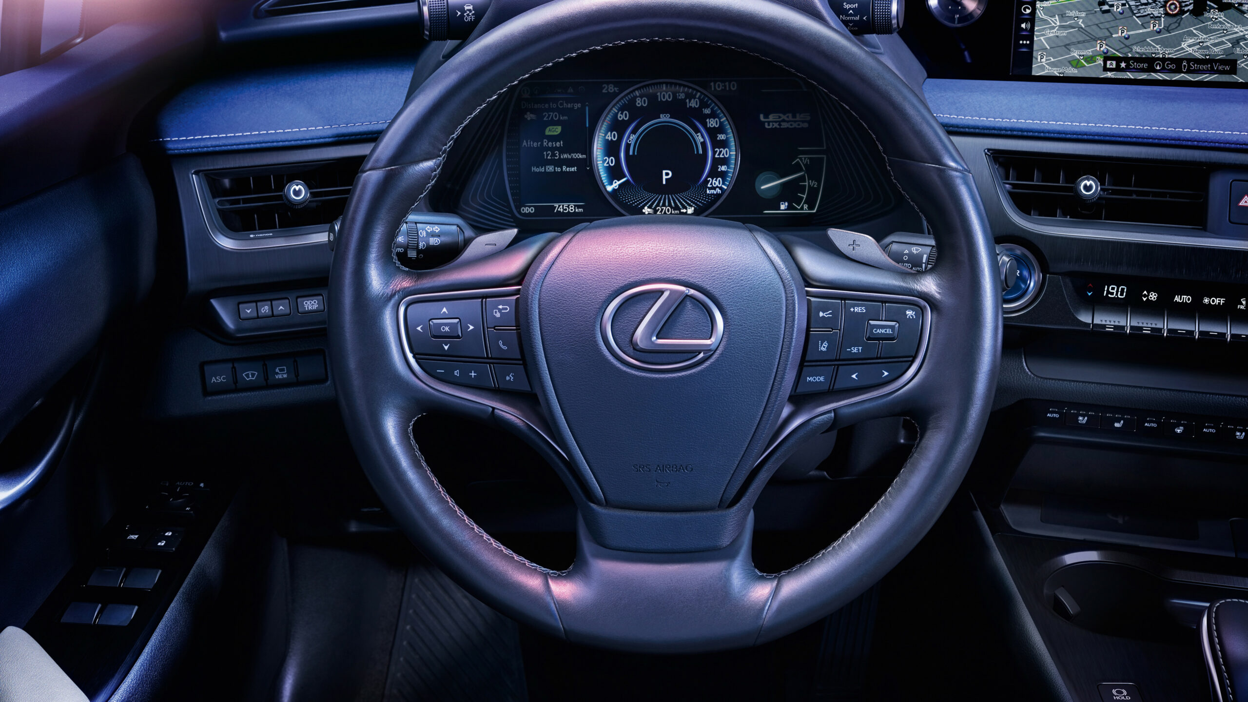 Lexus UX 6e 6 6K Interior Wallpaper | HD Car Wallpapers | ID ..