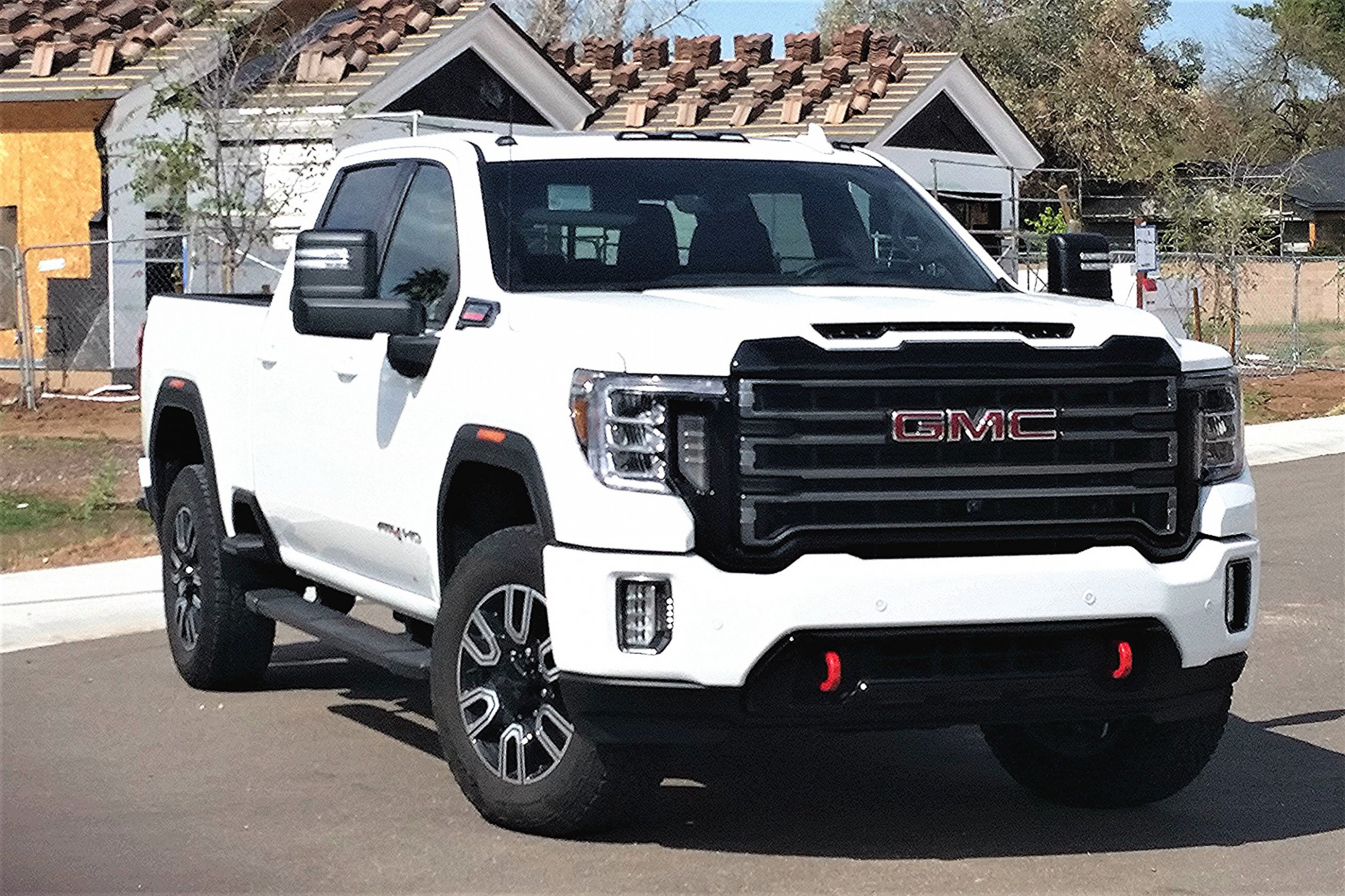 Massive 8 GMC Sierra 8 HD gets AT8 off-road gear - gmc work truck 2020