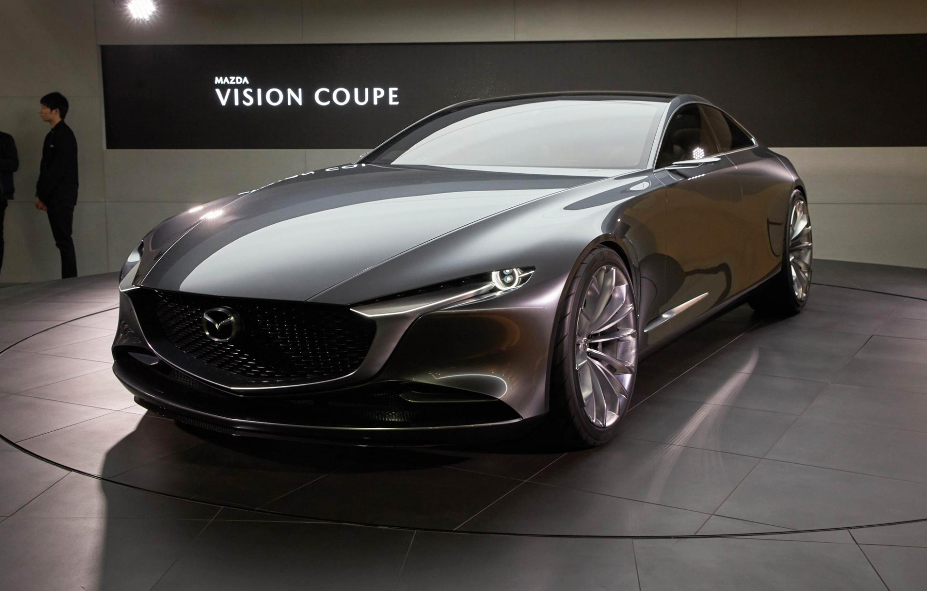 Mazda embraces minimalism with Vision Coupe concept - 2020 mazda vision coupe