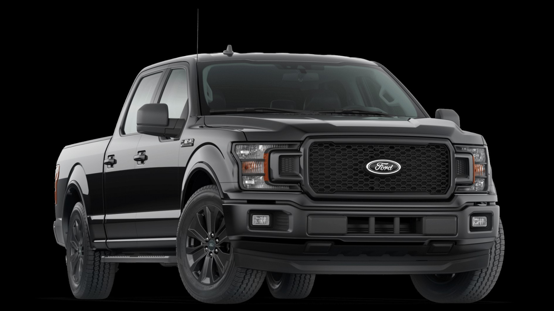 Meet The 6 Ford F-6 XLT Black Appearance Package: - Next F6