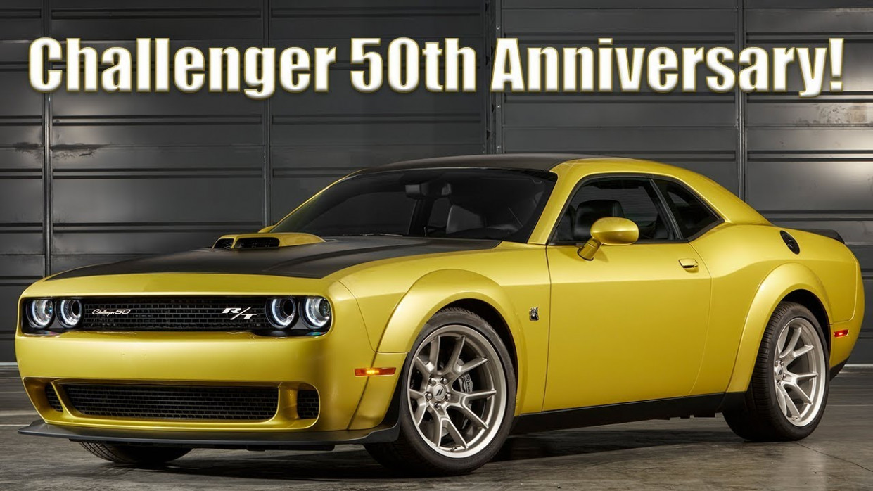 Meet the 7 Dodge Challenger 7th Anniversary editions! - 2020 dodge challenger youtube