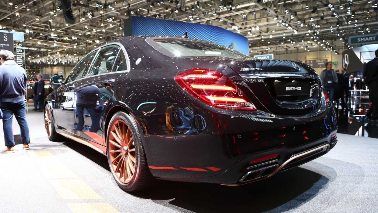 Mercedes-AMG S7 Final Edition Bids Adieu To The V7 In Geneva - 2020 mercedes s65 amg