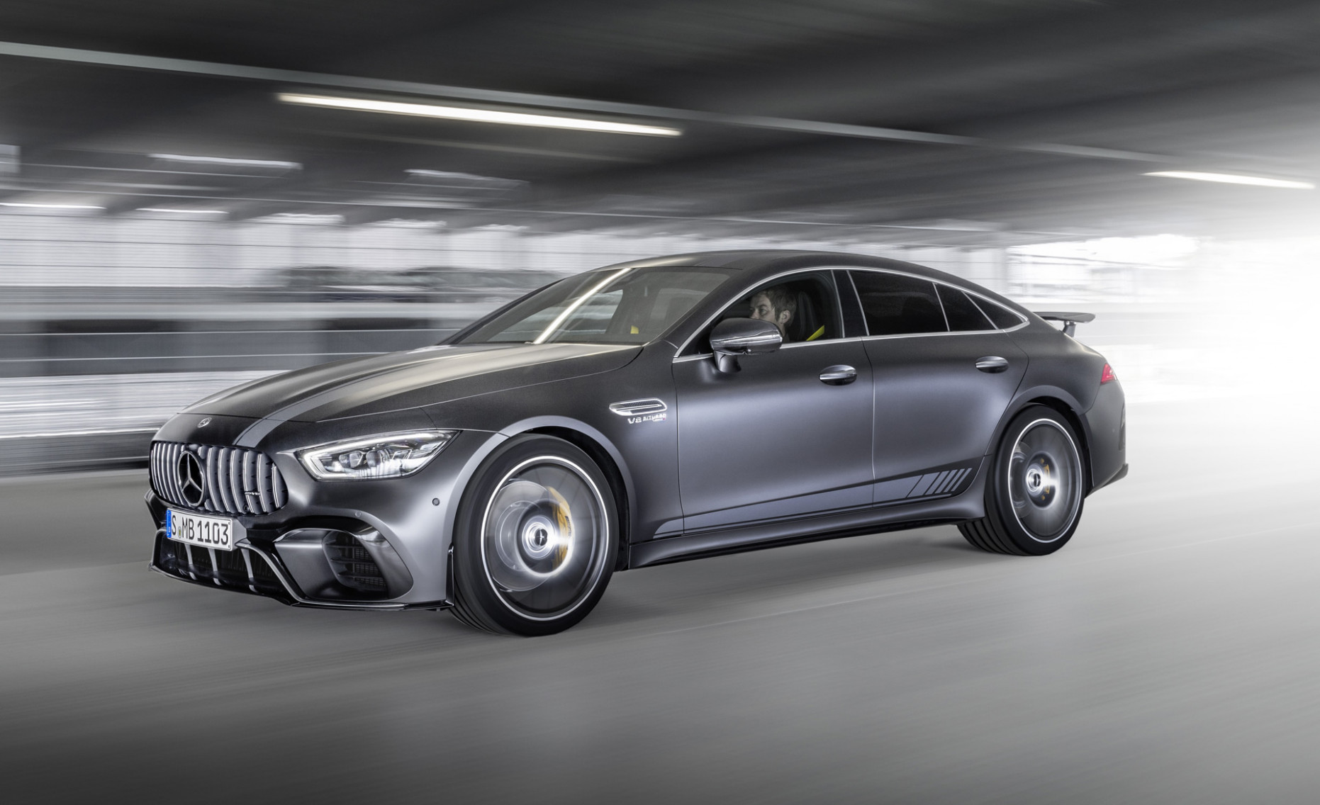 Mercedes-AMG teases electrified GT 7-Door Coupe due in 7