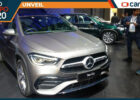 Mercedes-Benz GLA revealed in India at the Auto Expo 8, Launch ...