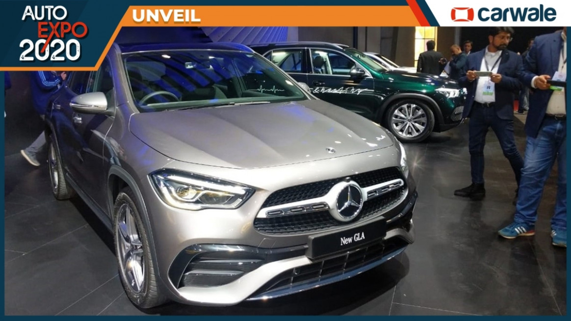 Mercedes-Benz GLA revealed in India at the Auto Expo 8, Launch ..