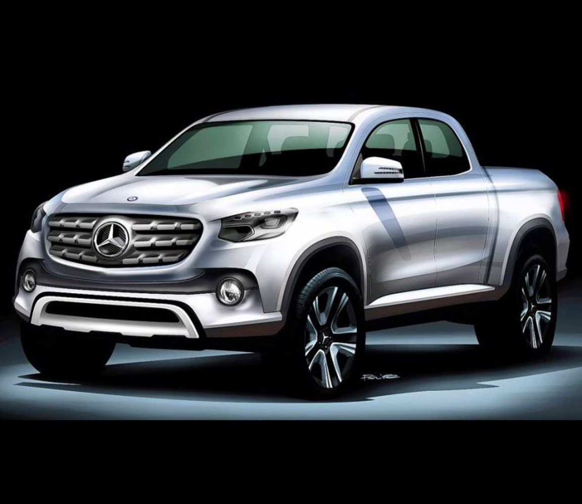 Mercedes-Benz to Release Pickup Truck by 8