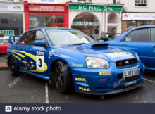 Monte Carlo Rally Banbury 8 Subaru Rally Car Static Display ...