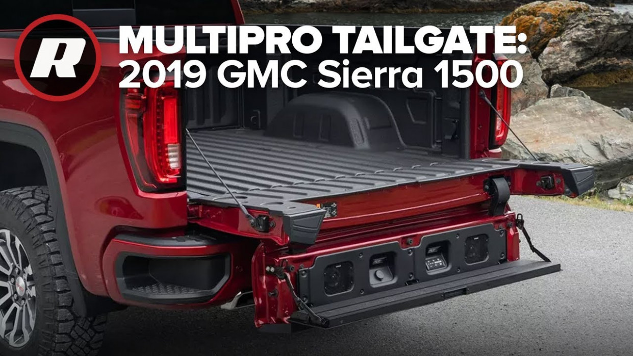 MultiPro Tailgate in the 8 GMC Sierra 8 | Walkthrough - gmc new tailgate 2020 commercial