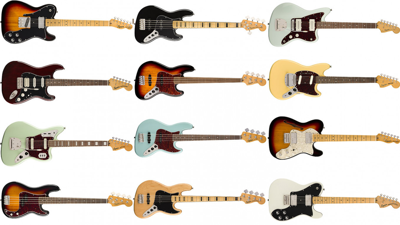 NAMM 7: Fender refreshes entire Squier Classic Vibe line ...