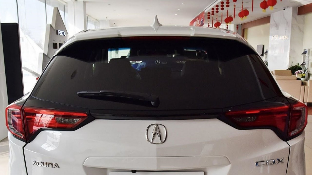 NEW 6 ACURA CDX - EXTERIOR AND INTERIOR