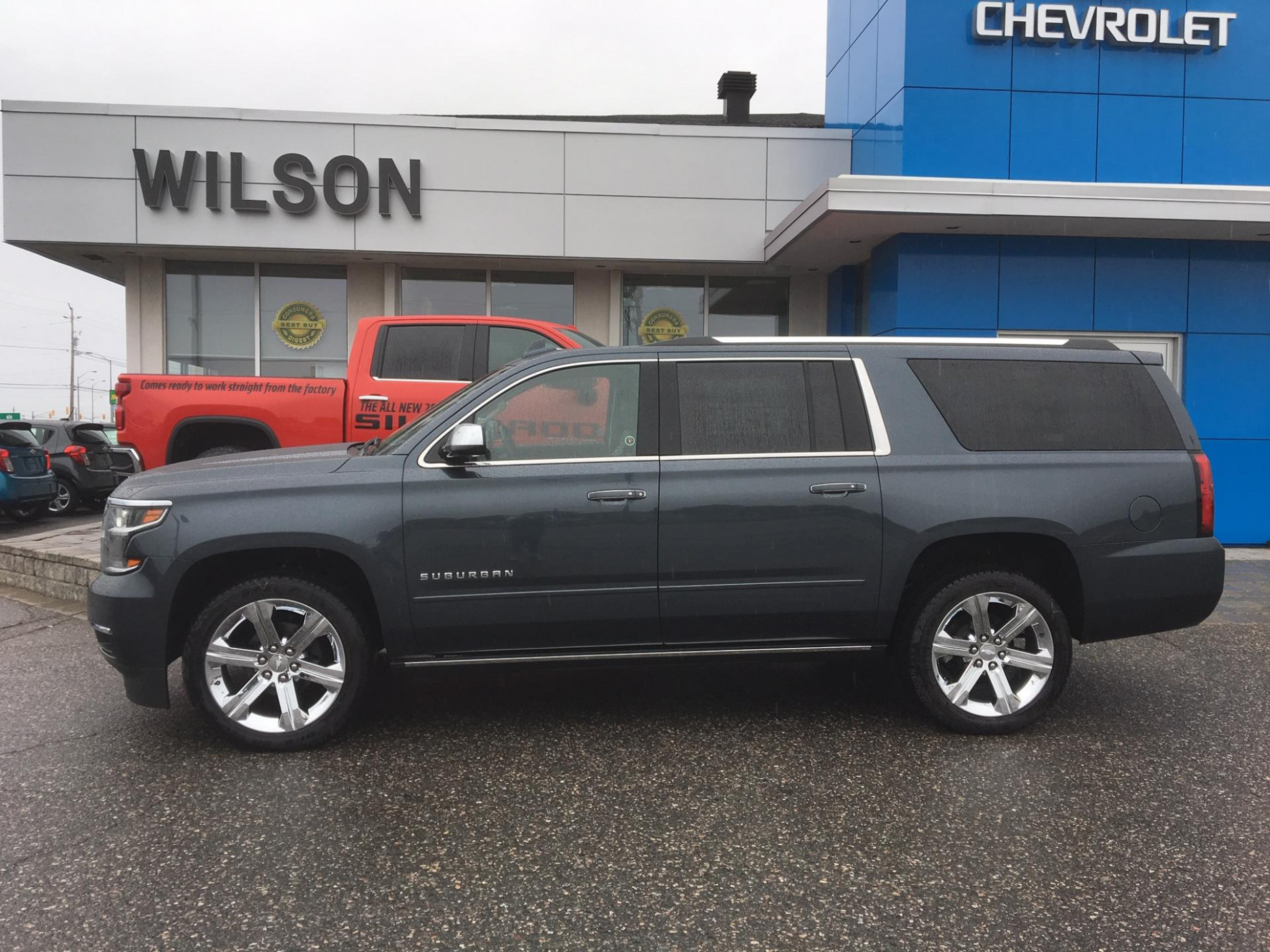 New 6 Chevrolet Suburban Premier in Shadow Gray Metallic for ...